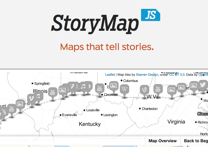 make an interactive map with storymap js legal design toolbox