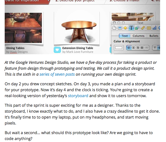 Protyping With Keynote