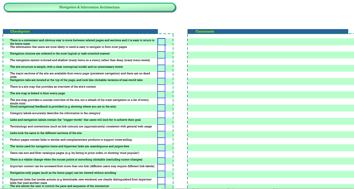 ... Usability Checklist Heuristic Review   Screen Shot 2015 04 29 At  7.44.55 ...