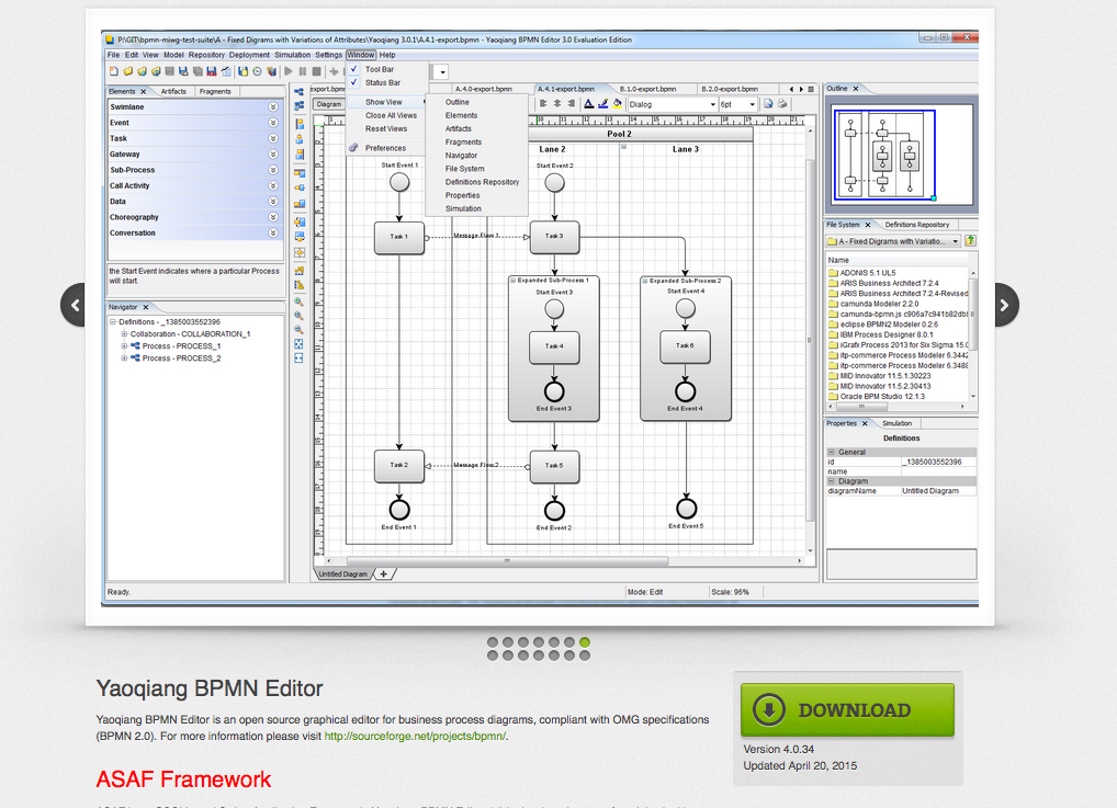 Bpmn Diagram Open Source Gallery How To Guide And Refrence