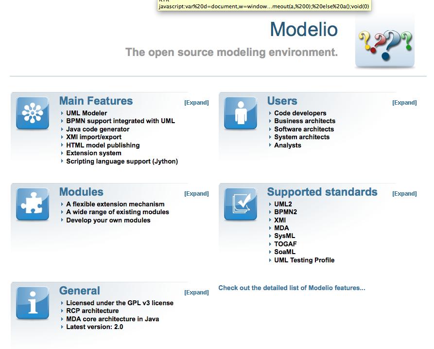 modelio open source tool to model processes - Uml Open Source Tools