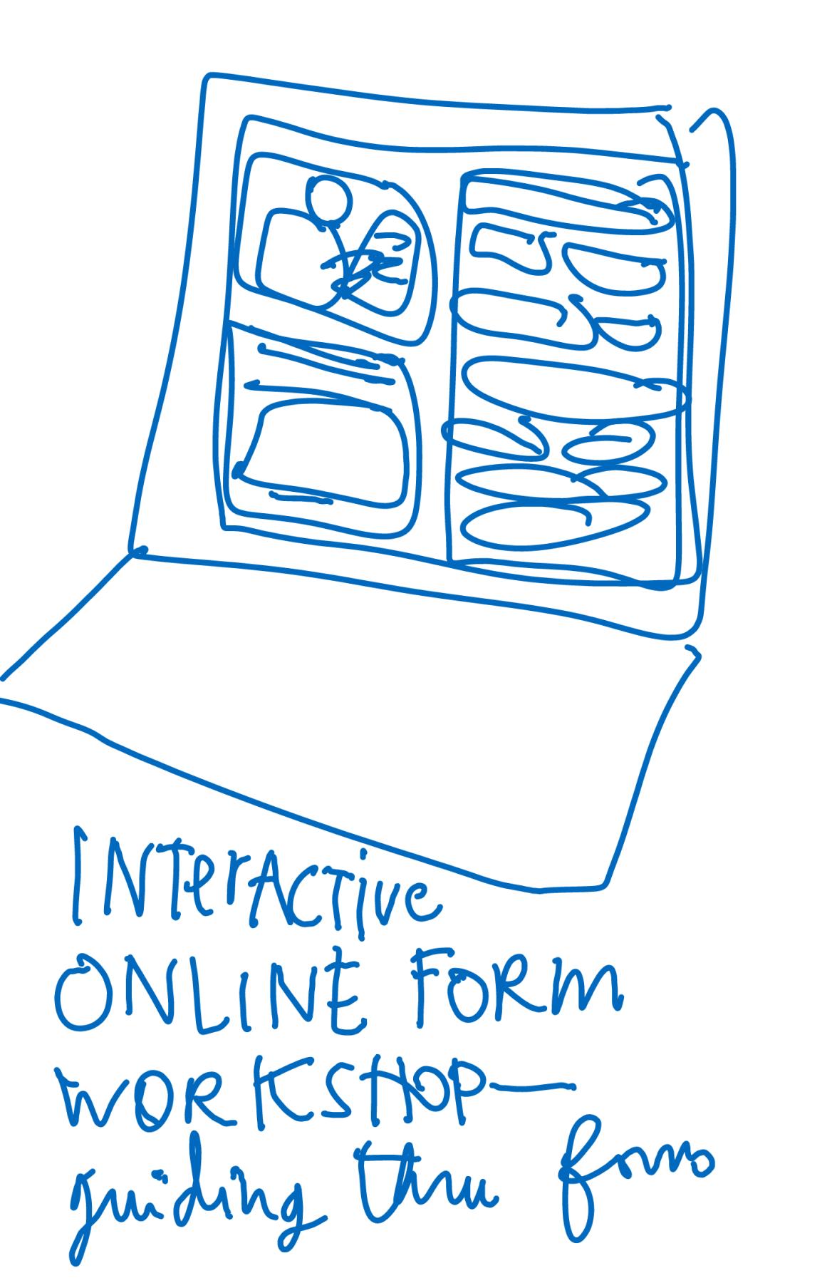 Interactive Online Workshops for legal tasks