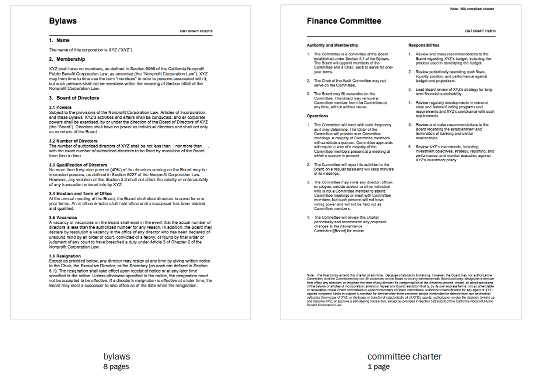 Corporate Document Redesign Legal Design Toolbox - Where to find legal documents