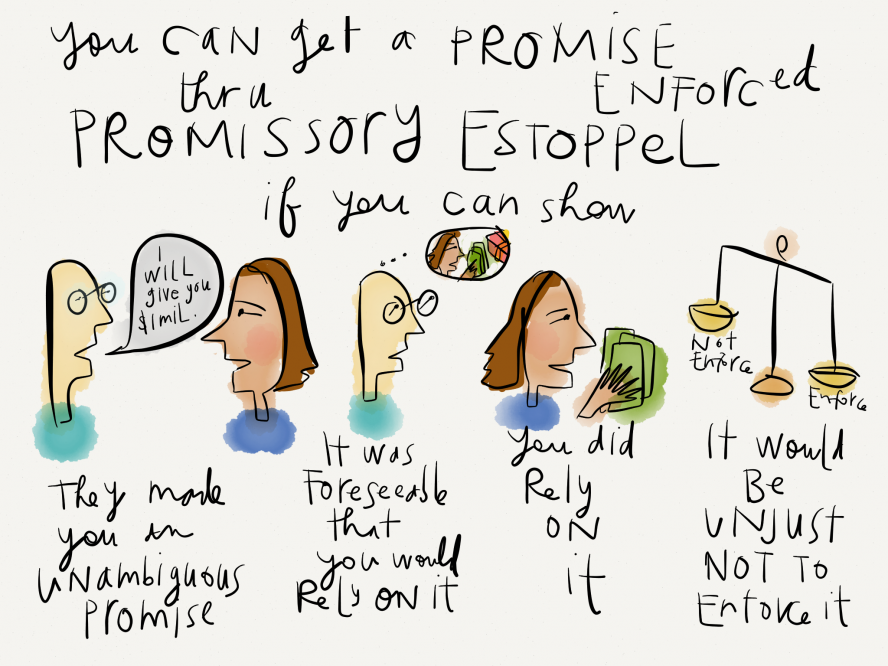 Can you enforce a promise through Promissory Estoppel? - Visual ...