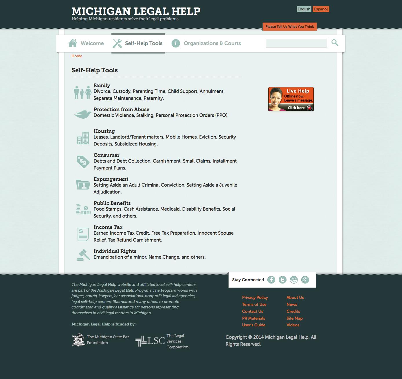 Legal Self Help: Legal Design Lab