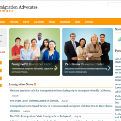 Portal - Immigration Advocate Network - home