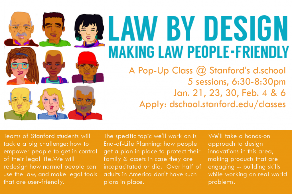 LAW BY DESIGN - MAKING LAW PEOPLE-FRIENDLY poster 3