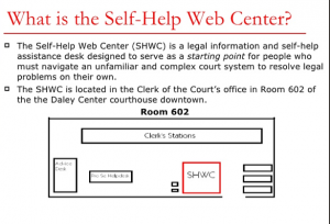 Program for Legal TEch and Design - Self HelP Web Center