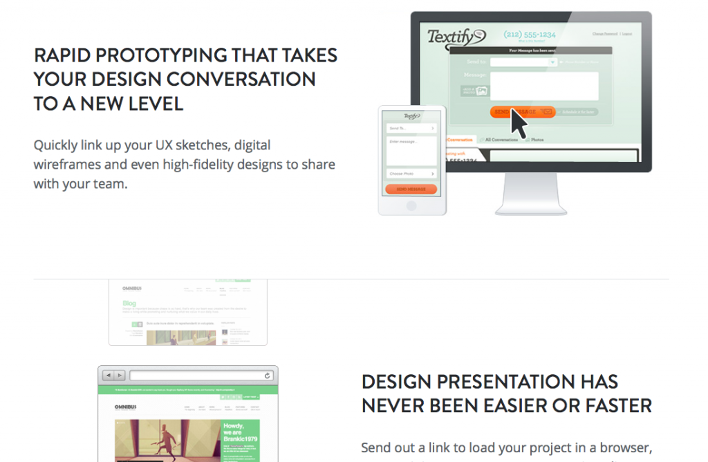 invision tool - Website Prototyping Tool