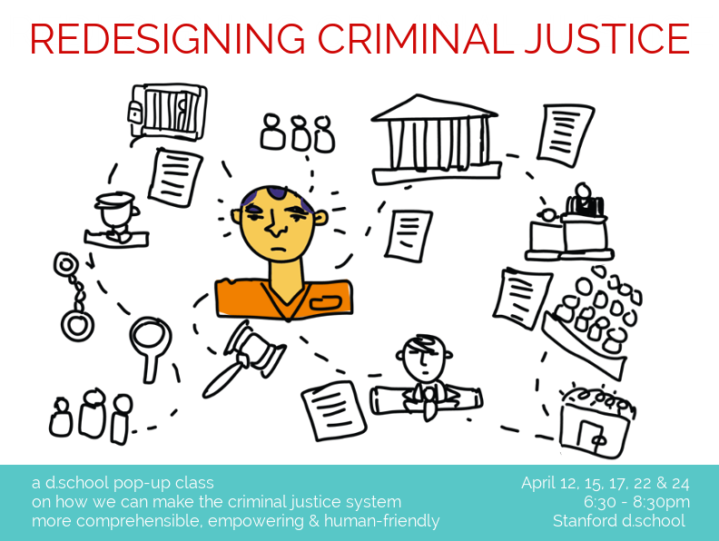 Crim Justice Redesign class poster