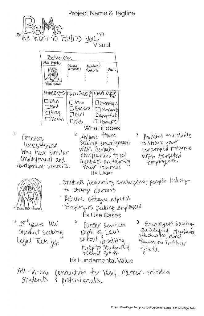 MSU Law School Redesign - BeMe - law school connection