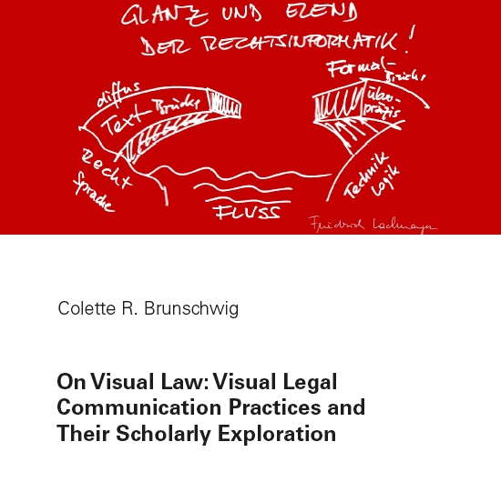 Program for Legal Tech and Design- On Visual Law - Colette R. Brunschwig
