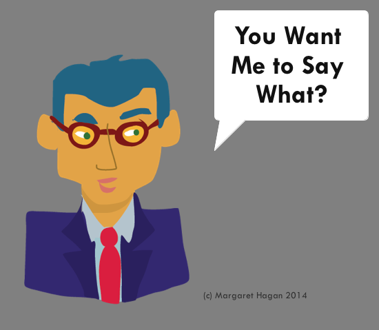 Communication Design use case 4 - you want me to say what?