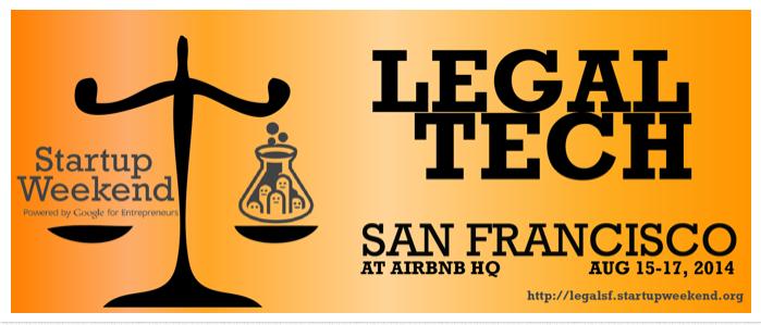 Legal Tech Startup Weekend SF