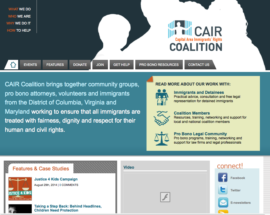CAIR Coalition for immigrant services