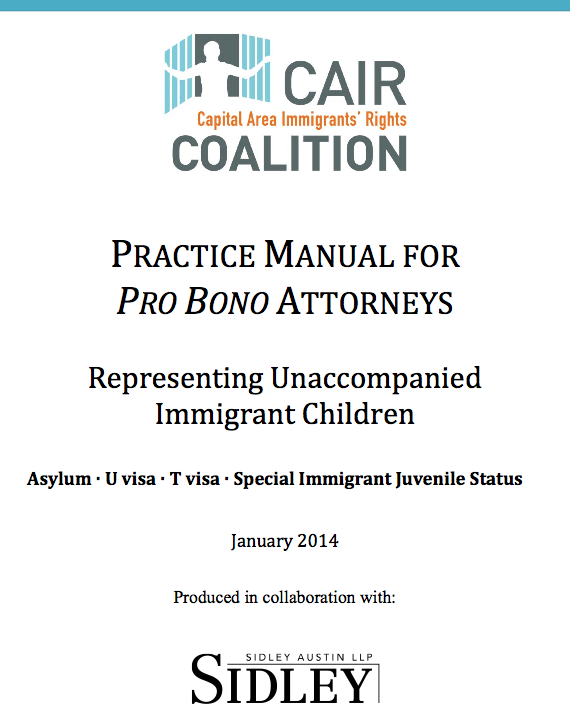 CAIR - Training Manual for pro bono attorneys