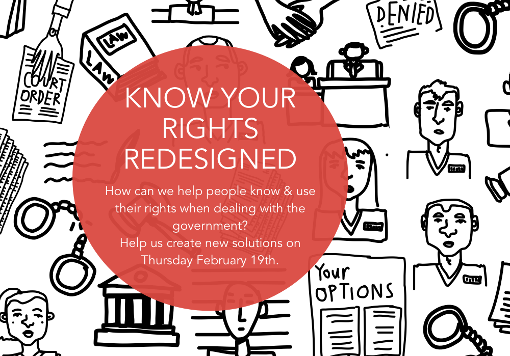 Know Your rights redesign invite image