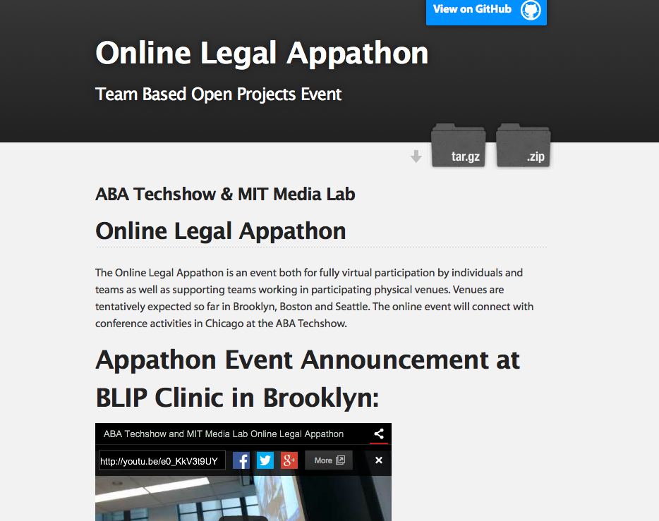 Online LEgal Appathon