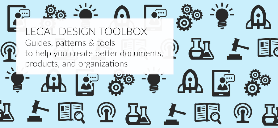 Legal Design Toolbox poster