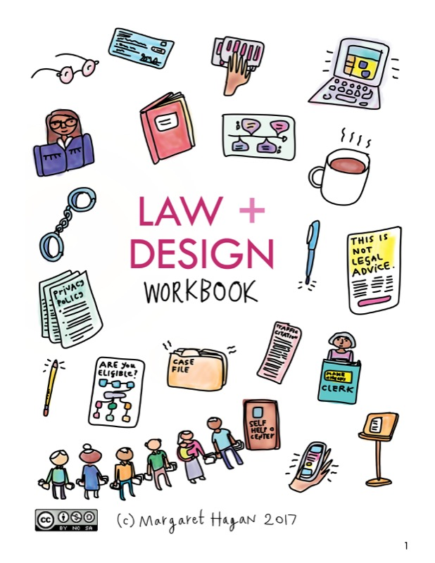 Law + Design workbook page 1